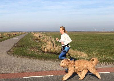 hardlopen met Guus