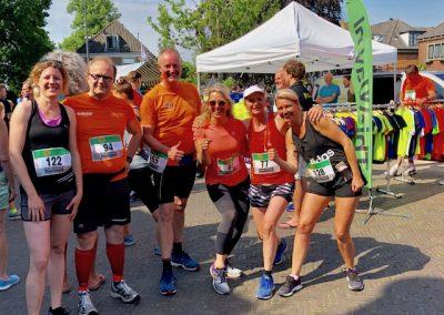 hardlopen voor de start